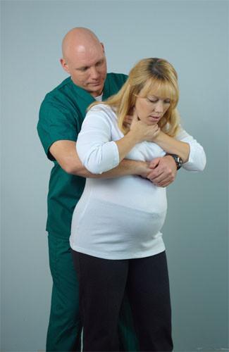étouffement chez la femme enceinte