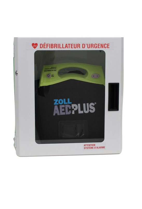 boitier pour défibrillateur