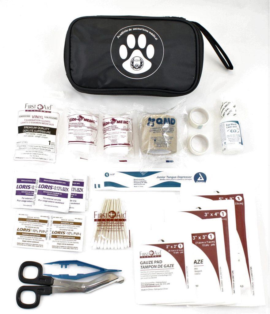 Trousse premiers soins animaux chat chien